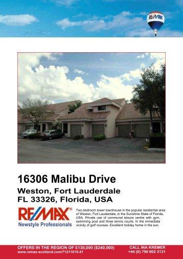 16306 Malibu Drive