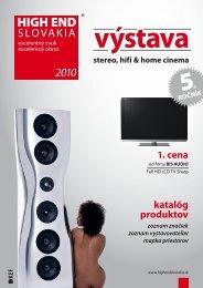 2010 - HIGH END Slovakia
