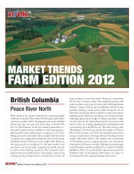 market trends farm edition 2012 - The Advantage of Two