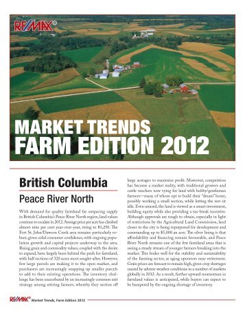 market trends farm edition 2012 - The Advantage of Two