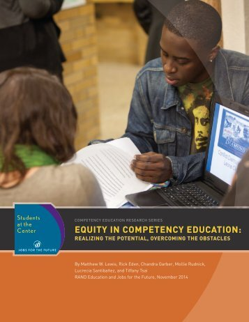 EQUITY IN COMPETENCY EDUCATION