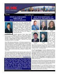 May 2005 - rmdfw newsletter - RE/MAX DFW Associates