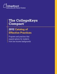 The CollegeKeys Compact