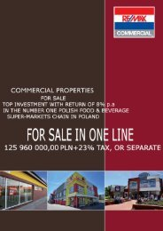 COMMERCIAL PROPERTIES - Hess Business Consulting