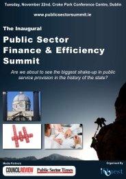 Public Sector Finance & Efficiency Summit