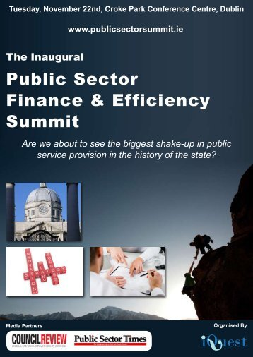 Public Sector Finance & Efficiency Summit