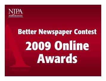 2009 Online Awards
