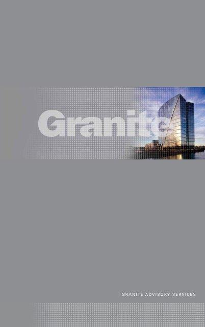 GRANITE ADVISORY SERVICES