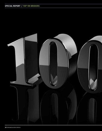 Special Report / Top 100 Brokers