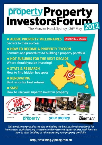 Aussie ProPerty millionAires How to become A ProPerty tycoon Hot ...