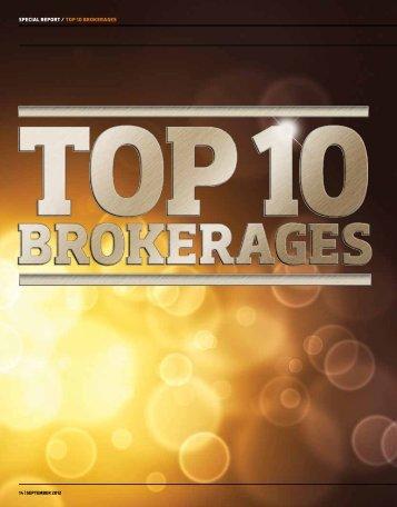 special report / top 10 brokerages