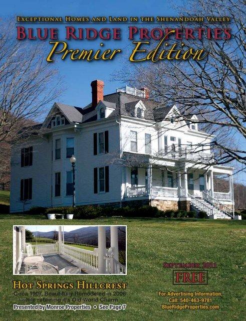 BRPS Sept11.pdf - Blue Ridge Properties Magazine