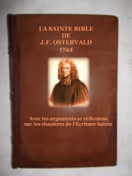 La Bible Ostervald 1744