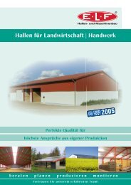 Hallen für Landwirtschaft   Handwerk
