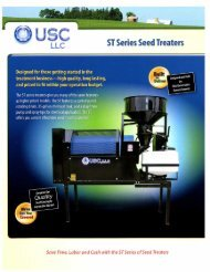 ST Series Seed Treaters - Can Seed Equipment