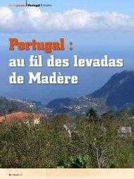 Portugal  au fil des levadas de Madère