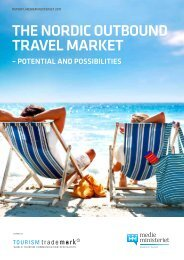 The Nordic outbound travel market