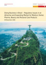 Doing Business in Brazil – Regulatory Issues in an Attractive and ...