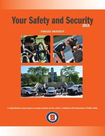 Your Safety and Security