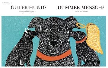 GUTER HUND? DUMMER MENSCH?
