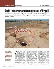 Dels iberoromans als comtes d'Urgell