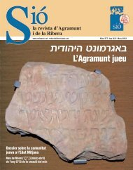 L'Agramunt jueu