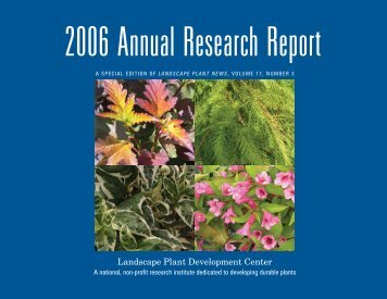 2006 Annual Research Report