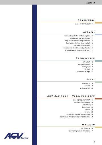 Direkt - AGV Bau Saar