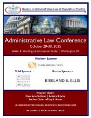 Administrative Law Conference