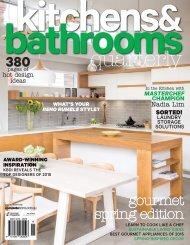 Kitchens & Bathrooms Quarterly - Vol. 22 No. 3