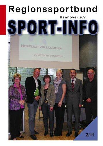 V erein s - beim Regionssportbund Hannover
