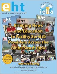 and Education to Facility Service Providers Across the Globe Since 1964