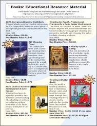Books: Educational Resource Material - IEHA