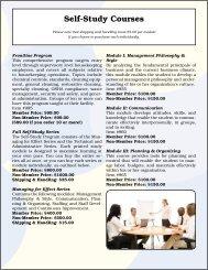 Self-Study Courses - IEHA