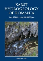 SHORT HISTORY OF THE HYDROGEOLOGICAL INVESTIGATIONS OF THE KARST IN ROMANIA