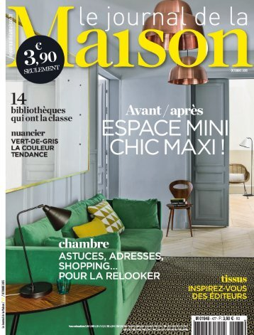 Le Journal de la Maison N°477 - Octobre 2015