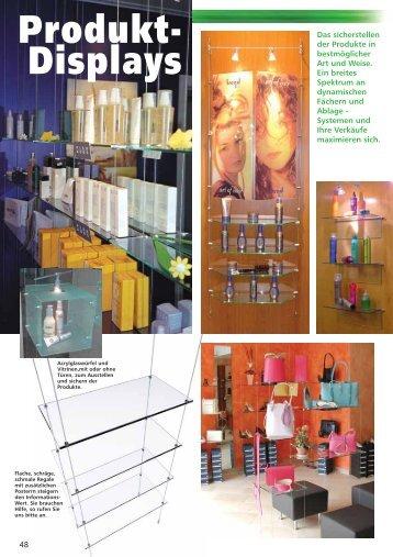 Produkt- Displays