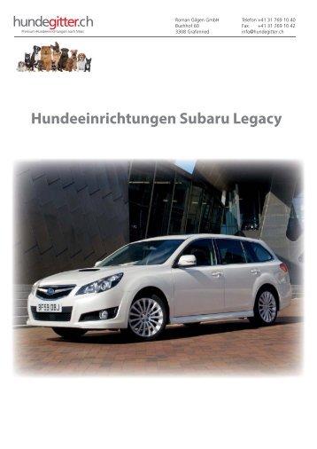 Subaru_Legacy_Hundeeinrichtungen
