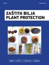 Zaštita bilja Plant protection