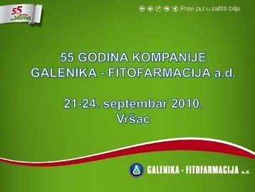 55 godina kompanije Galenika Fitofarmacija