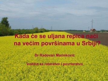 na većim površinama u Srbiji?