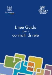 Linee Guida contratti di rete
