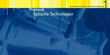 Photonik Optische Technologien - WiRO