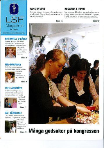 LSF-magazinet nr 5 2010 - RDK