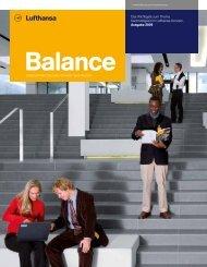 Nachhaltigkeitsbericht Balance 2009 - Econsense