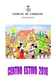 COMUNE DI CODOGNE'