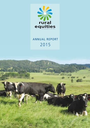 REL Annual Report 2015