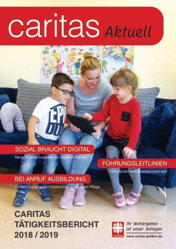 Caritas-Tätigkeitsbericht 2016/2017