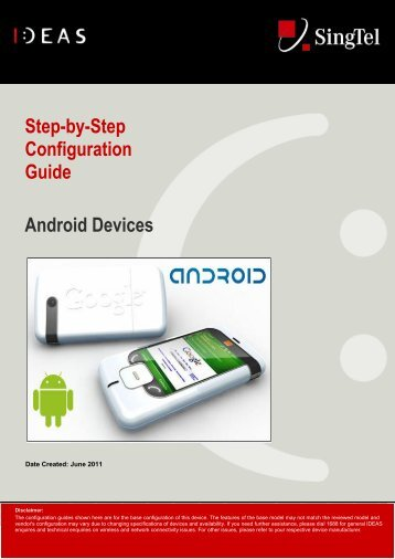 Step-by-Step Configuration Guide Android Devices
