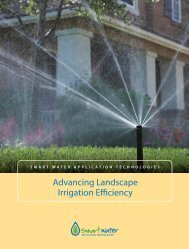 Advancing Landscape Irrigation Efficiency